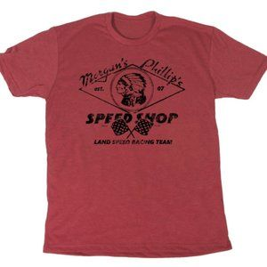 Morgan's and Phillip's Land Speed Racing Team Tee